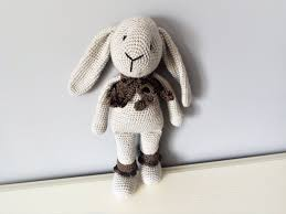 Bunny Rabbit Home Decor Soft Bunny Rabbits Crochettoyscorner
