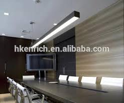 suspended linear light fixtures indoor supermarket suspended linear led trunking light fixture buy