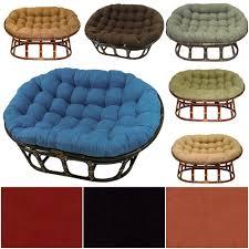 Papasan Patio Chair Double Papasan Chair With Microsuede Cushion Home Chair Decoration