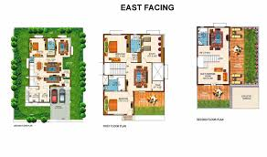 villa floor plans overview richmond villas hydershakote hyderabad keerthi