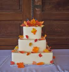 wedding cakes autumn fall wedding cakes jazz your fall wedding