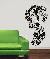 destudio music floral wall art stickers and wall decal buy destudio music floral wall art stickers and wall decal