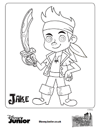jake land pirates coloring picture coloring pages