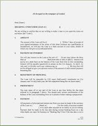 Letter Of Agreement Sle For Loan personal loan letter format thepizzashop co