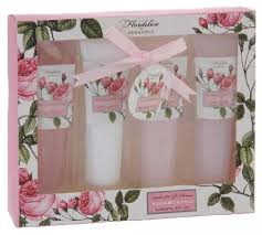 bath gift sets bath gift set 4 gift box of flordelice by aroma