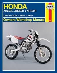 honda xr250l xr250r u0026 xr400r 86 04 haynes repair manual