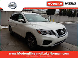 2017 nissan pathfinder pearl white nissan pathfinder in cornelius nc modern nissan of lake norman