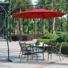 Walmart Table Umbrellas Patio Extraordinary Patio Tables With Umbrellas Patio Tables