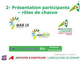 chambre agriculture charente comité d orientation agriculture biologique ppt télécharger