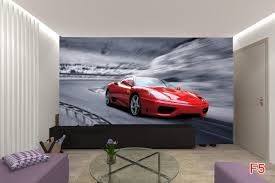 cars wall murals todosobreelamor info cars wall murals mural black sport car on grey background