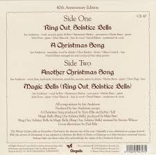 45cat jethro tull ring out solstice bells a christmas song