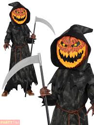 pumpkin costume boys o lantern scary pumpkin costume kids
