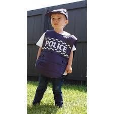 kids police vest u0026 cap dress up home kids clothing the cop