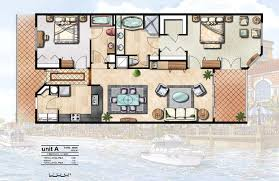 Color Floor Plan Floor Plans Elevations Genesis Studios Inc