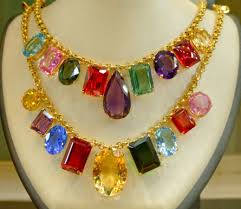 multi colored stones necklace images Gemstones of california beads and beading blogs jpg