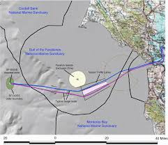 San Francisco Topographic Map by Dredging San Francisco Deep Ocean Disposal Site Vessel Route