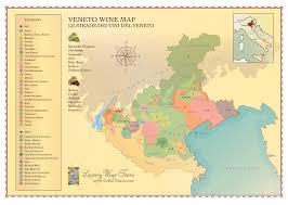 Renaissance Italy Map by Veneto Wine Region Map Cellartours