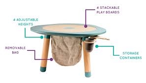 mu table the multi functional children s play table by martina