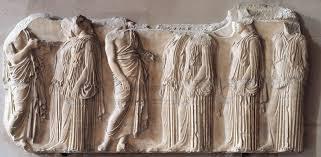 panathenaic festival procession frieze parthenon acropolis