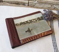 Leather Picture Album Big Leather Photo Album Luxury Brown Photo Album Nos Embossed