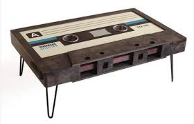 cassette tape coffee tables the strut