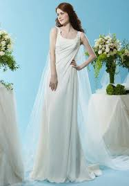 grecian style wedding dresses budget grecian wedding dress saveonthedate