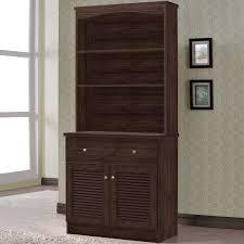 hutch kitchen furniture homestar glass curio cabinet hayneedle
