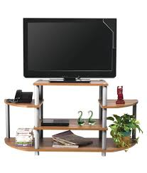 georgia tv rack in teak colour by nilkamal with exclusive price