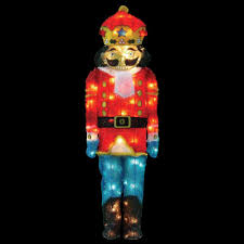 Lighted Christmas Decorations by Penguin Christmas Yard Decorations Outdoor Christmas