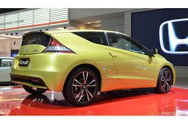 Honda Crz 4 Seater Refreshed 2013 Honda Cr Z With Some Extra Ponies Makes Surprise