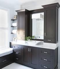 Bathroom Vanity Storage Tower Bathroom Bathroom Vanities With Towers Espresso Vanity Cabinets