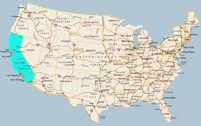 california map in usa us map with california map na usa california thempfa org