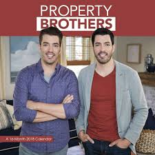 Propertybrothers Property Brothers 2018 Wall Calendar 9781438853208 Calendars Com