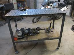 tab and slot welding table certiflat welding table build youtube