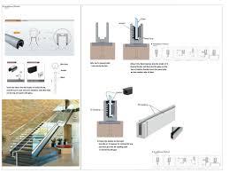 Banister Fittings Glass Railing Stainless Steel Handrail Fittings Stainless