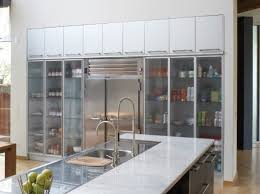 The Simple Storage Cabinet With Best Kitchen Storage Cabinets With Glass Doors Idea Home Design