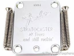 40th anniversary plates 7 best guitar neck plates images on guitar neck plate