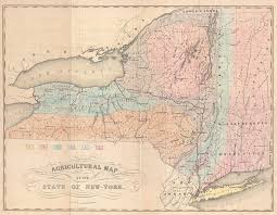 Map Of New York State by File 1846 Emmons Agricultural Map Of New York State Geographicus