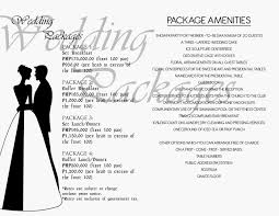 wedding packages bcc and i do wedding package wedding packages