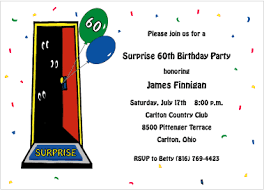 surprise 60th birthday invitations u2013 gangcraft net