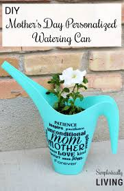 s day personalized gifts diy s day personalized watering can silhouette vinyl
