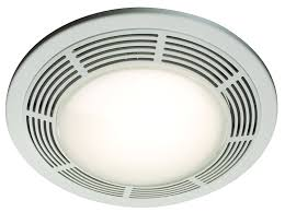Bathroom Fan Light Replacement Nutone 8664rp Designer Fan And Light With White Grille And