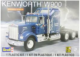 kenworth truck builder amazon com revell kenworth w900 toys u0026 games