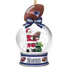 new patriots snow globe ornaments your 1st one is free
