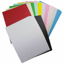 200 x a4 coloured paper card pack 160gsm cardmaking die cutting