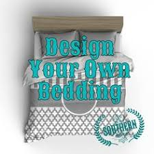 Customize Your Own Bed Set Custom Designed Chevron Teal And Gray Bedding Duvet Or Comforter