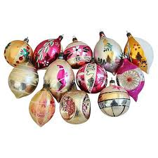 decorated european ornaments w box set of 12