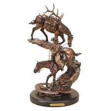 horse statues for home decor western sculptures