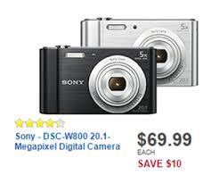sony camera black friday sony dsc w800 20 1 megapixel digital camera black deal at best