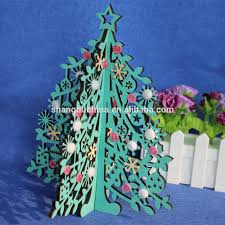 wholesale home decor artifical wood craft carving christmas tree